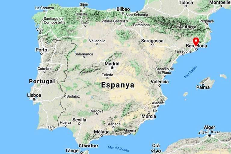 Mapa de localització (Google maps 2021-05-19)