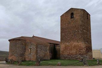 Iglesia de San Juan Bautista. Aldealpozo. Soria