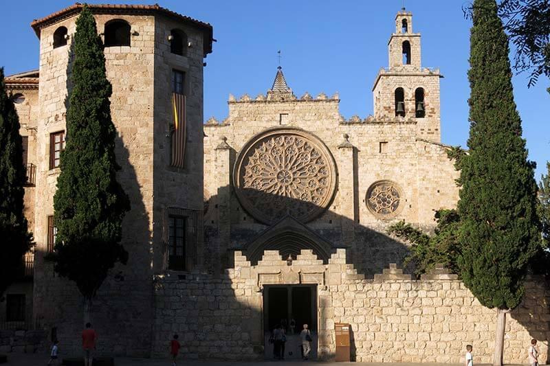 Monestir de Sant Cugat del Valles (Barcelona)