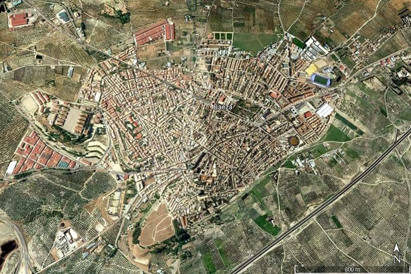 Baeza (Google earth 2019-30-01)