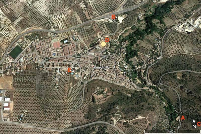 Almedinilla (Google earth 2018-11-04)