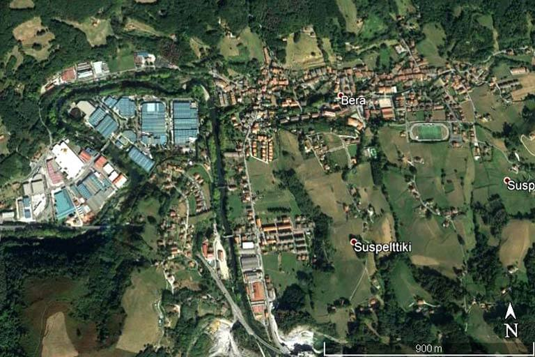 Bera, Navarra (Google earth 2019-09-16)