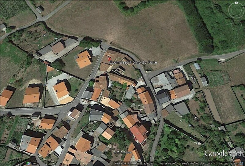 Ecomuseo Forno do Forte (Google Earth 01-03-2018)