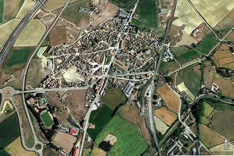 Fromista (Google earth 2021-06-23)