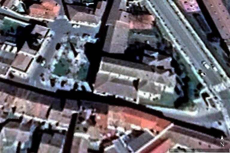 Iglesia de Santa Maria del Camino, Carrion de los Condes, Palencia (Google earth 2021-01-14)