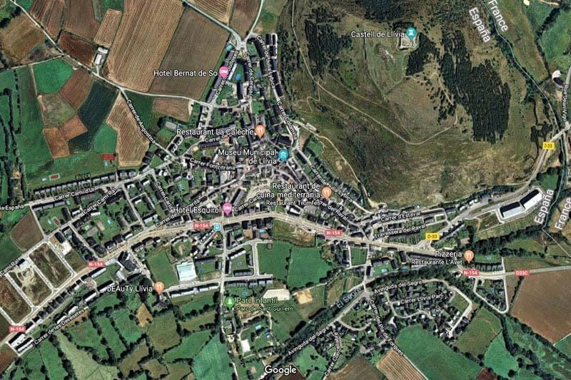 Llivia (Google maps 2018-12-10)