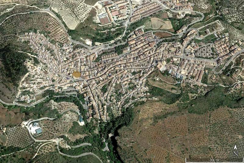 Montefrío (Google earth 2019-01-10)
