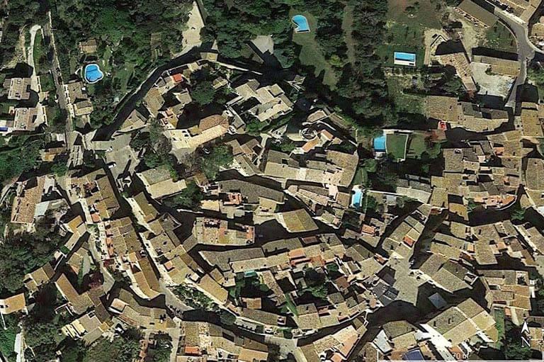 Pals, Girona (Google earth 2020 10 21)