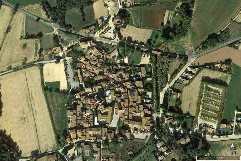Peratallada (Google earth 2019-10-29)