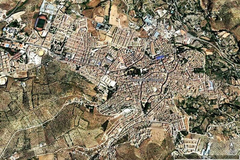 Priego de Cordoba (Google earth 2019-03-08)