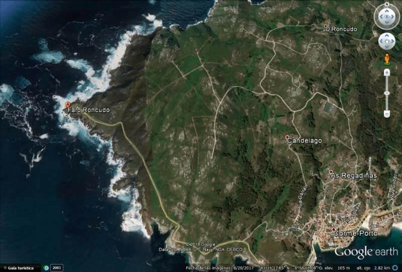 Punta Roncudo y Faro Roncudo