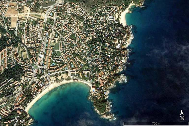 S'Agaro (Google earth 2020-07-10)