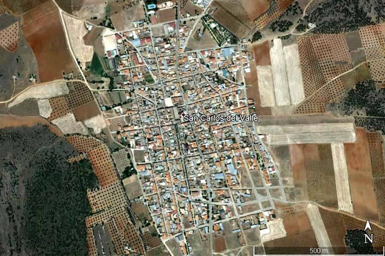 San Carlos del Valle (Google-earth-2019-08-08)