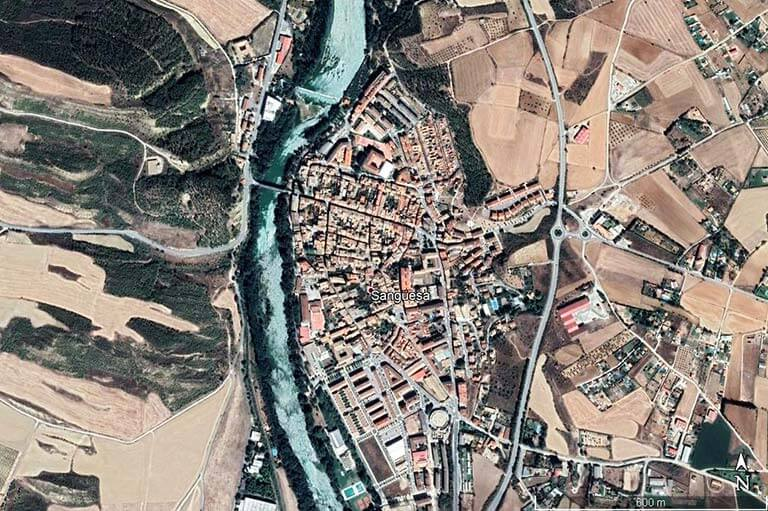 Sanguesa (Google earth 2020-05-25)