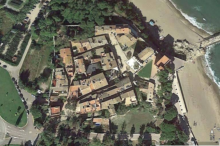 Sant Marti d'Empuries (Google erath 2020-03-07)