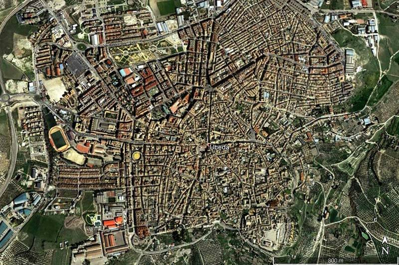 Ubeda (Google earth 2019-02-09)