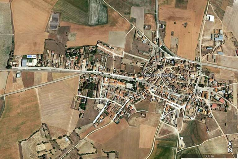 Valoria la Buena, Valladolid (Google earth 2021-07-12)