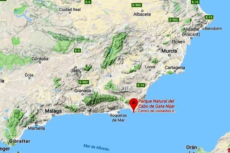 Parque Natural Del Cabo De Gata Níjar Almería El Turista Tranquilo