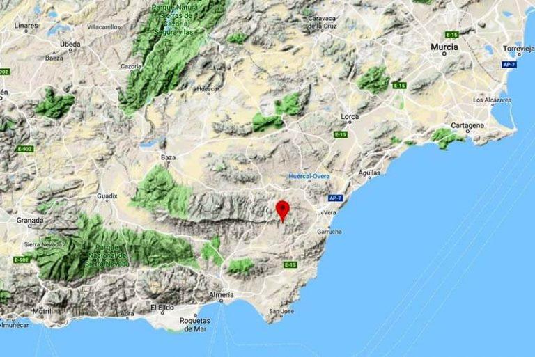 Casona Granado Mapa situación (Google maps 2019-04-27)