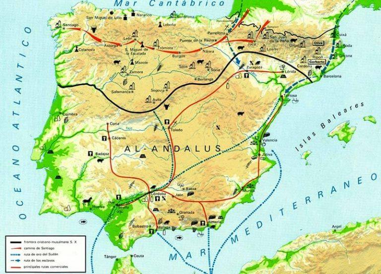 Frontera cristiano-musulmana al segle X i Camí de Sant Jaume
