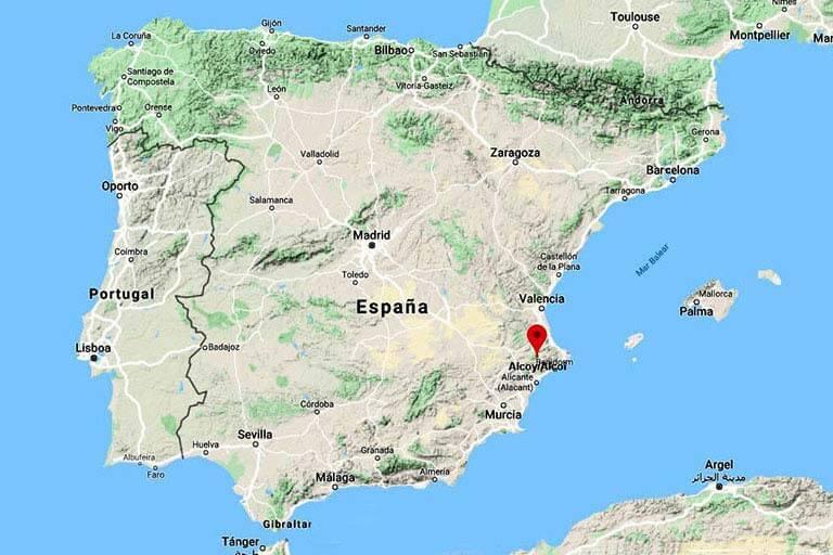 Alcoy (Alicante/Alacant) - El turista tranquilo