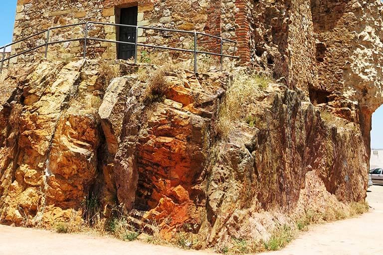 Parque minero de Almaden Castillo de Retamar