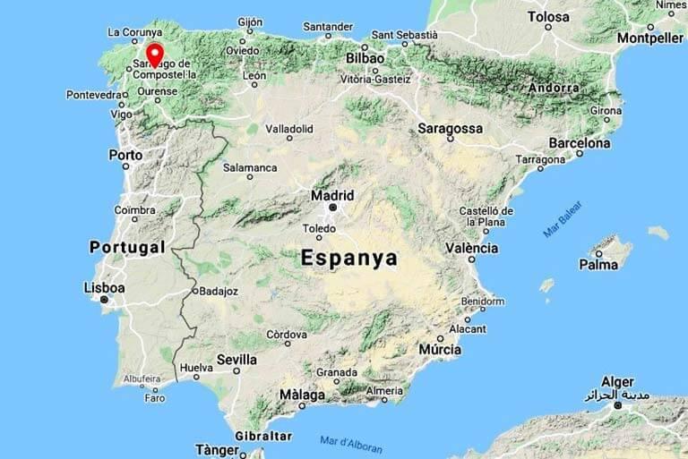 Castelo de Pambre, Lugo(Google maps 2020-11-05)