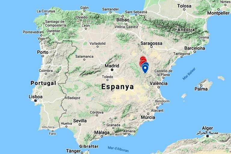 Mapa de situacio (Google maps 2020-08-11)