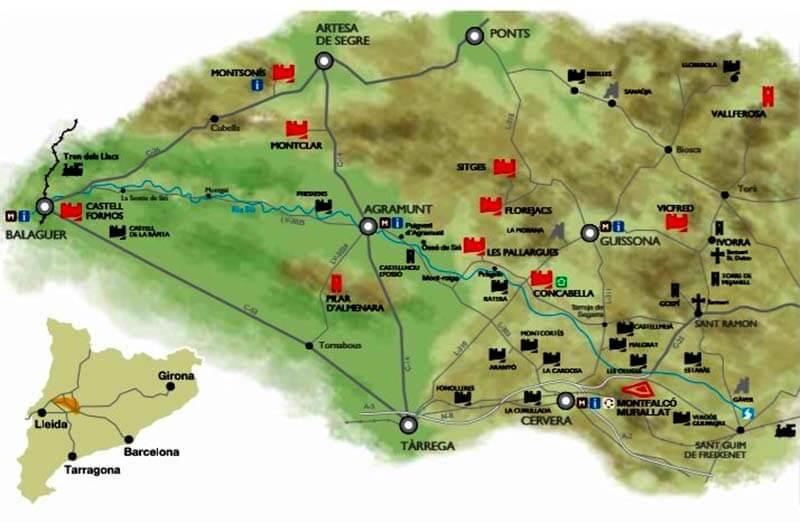 Castells del Sió