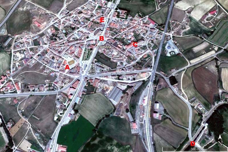 Fromista (Google earth 2018-12-20)