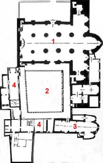 PlantaCatedral de La Seu d'Urgell