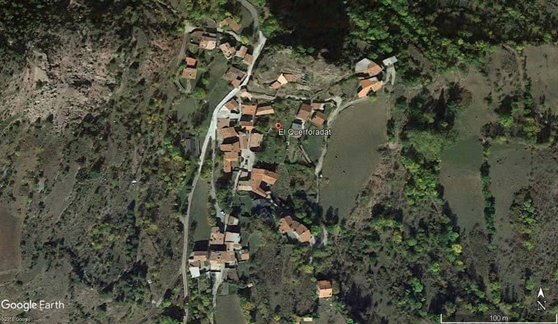 Querforadat (Google earth 2018-07-15)
