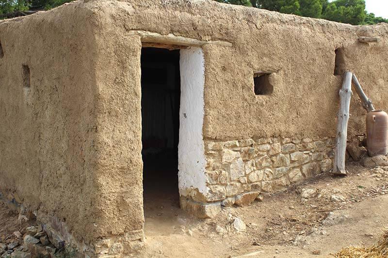 casa íbera en el Turo Rodo