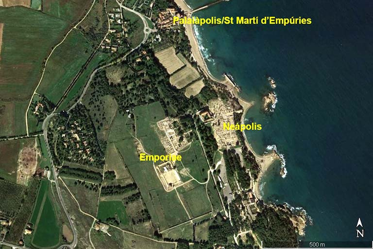 Empuries (Google earth 2020-02-26)