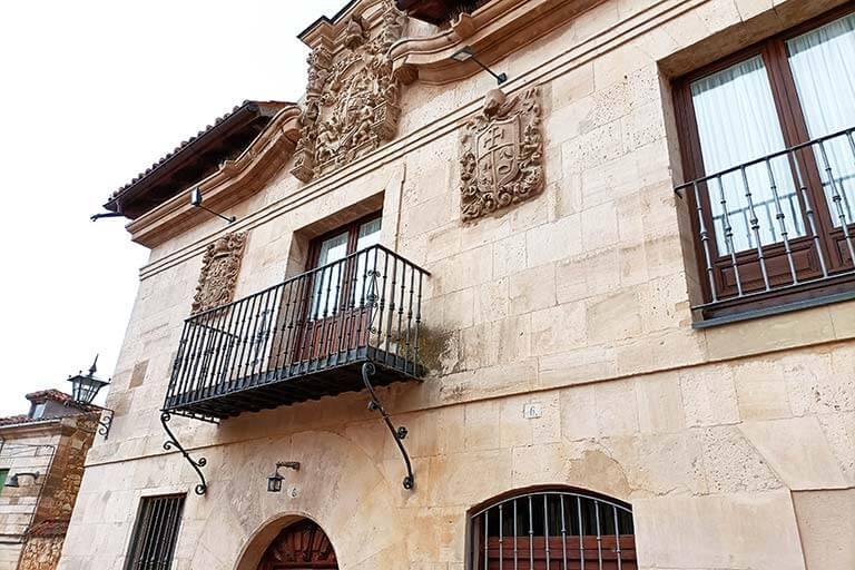 Mapa situación Concejo Hospederia. Valoria la Buena, Valladolid (Google maps 2021-06-24)