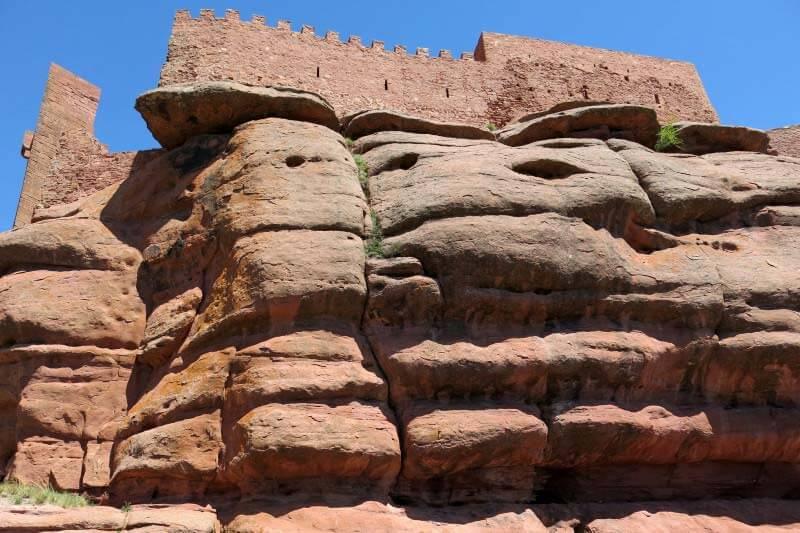 Castillo de Peracense- Torre del homenaje