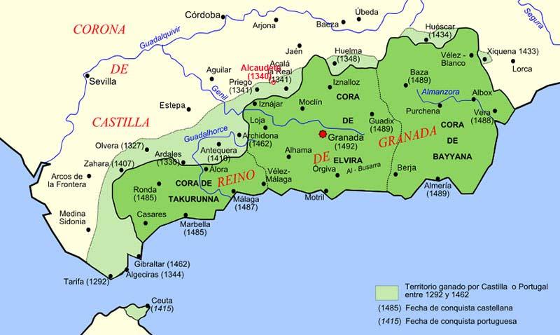 Frontera Reino de Granada