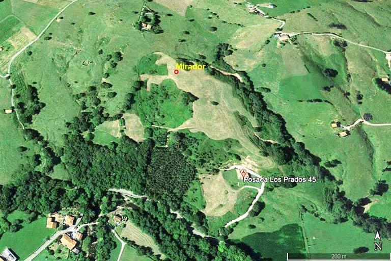 Posada Los Prados 45, Cantabria (Google-earth-2021-08-24)
