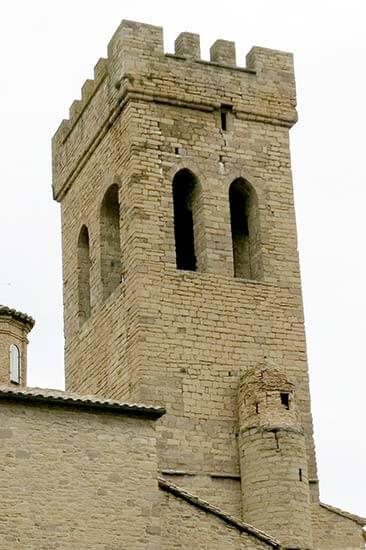 Sanguesa, Iglesia de Santiago
