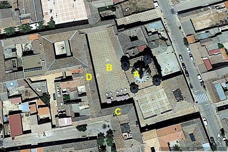 San Carlos del Valle (Google earth 2019-08-12)