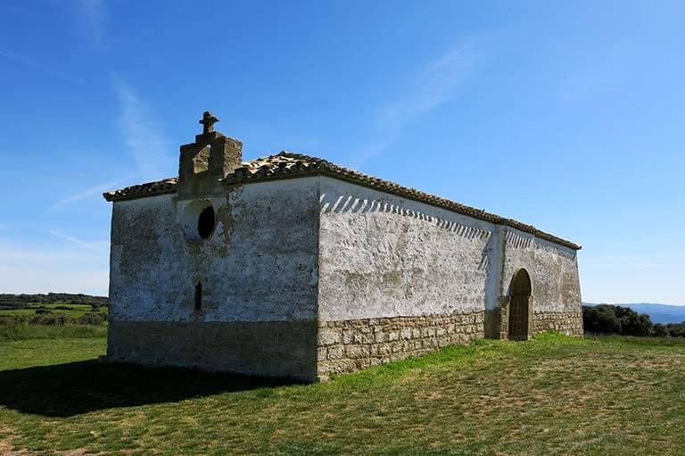 Ermita románica de la Virgen Blanca (Ujué, Navarra)