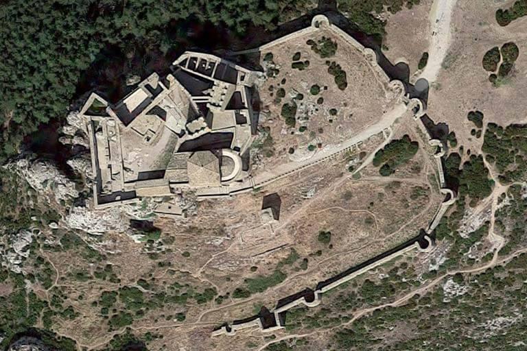 Castillo de Loarre (Google maps 2019-08-02)