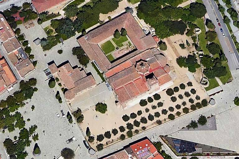 Monestir Sant Cugat del Valles, Barcelona (Google maps 2020-11-11)