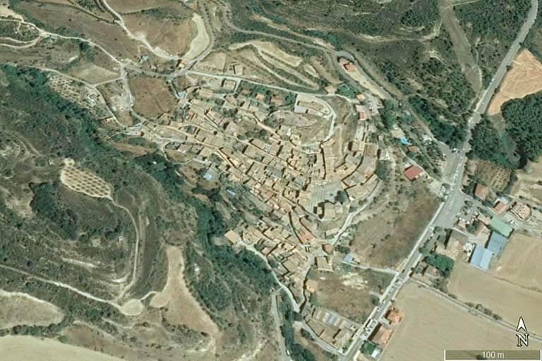 Murillo de Gallego (Google earth 2019-12-01)