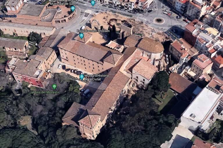 Sant Feliu de Guixols, Girona, Monestir S a N(Google maps 2021-03-04)