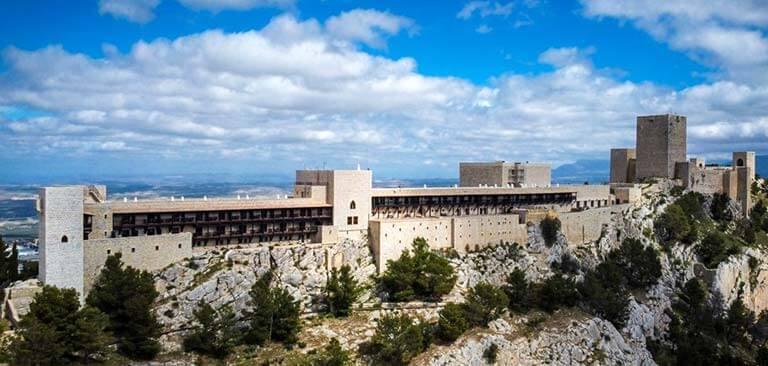 Castillo de Santa Catalina, Jaen. Foto Paradores Nacionales