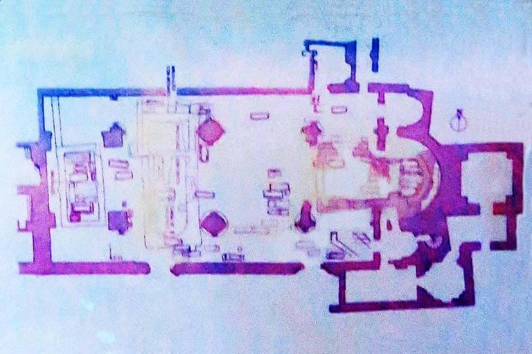 Merida cripta de Santa Eulalia