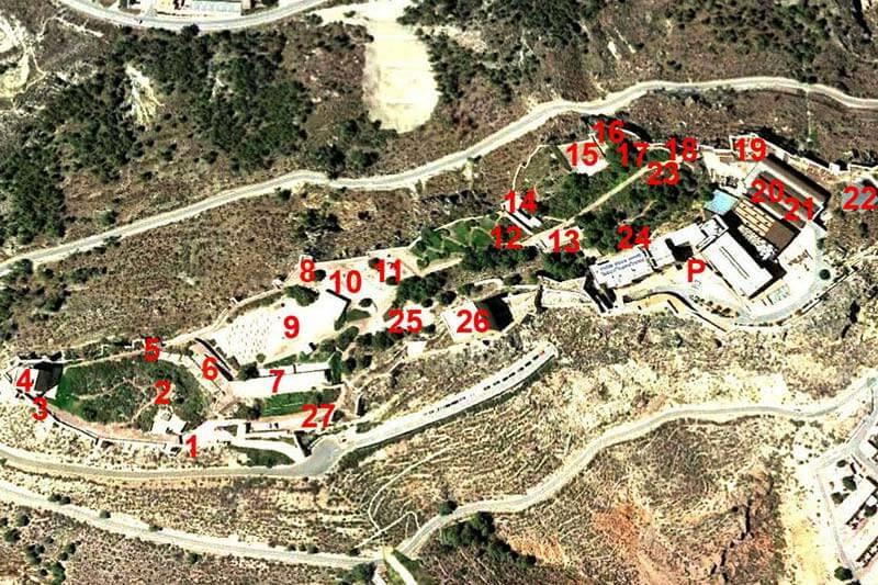 Castillo de Lorca Referencias visita
