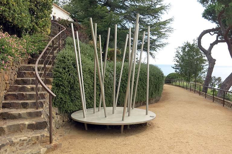 """Jardins de Cap Roig Calella de Palafrugell Enric Ansesa """"Encontre Mitològic I (Súnion)"""""""