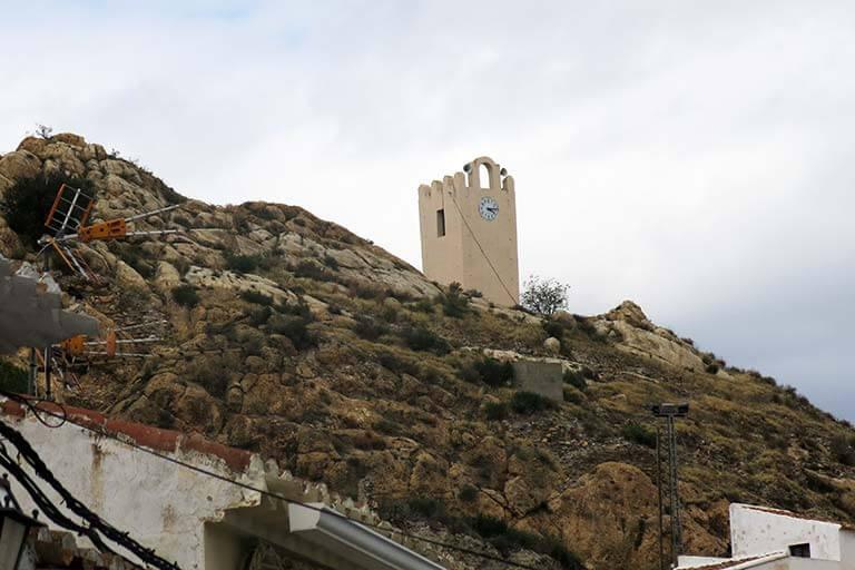 Lubrin, Almeria. Torre del reloj